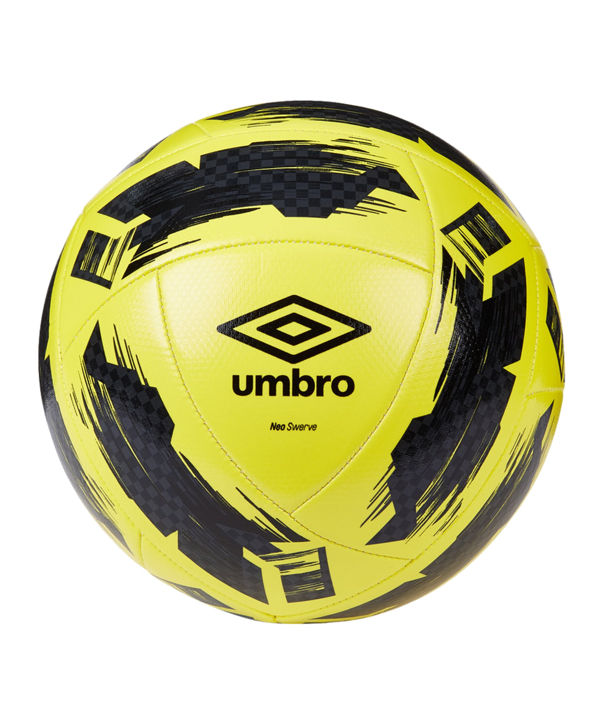 Umbro Neo Swerve Trainingsball Gelb Schwarz F157 - gelb
