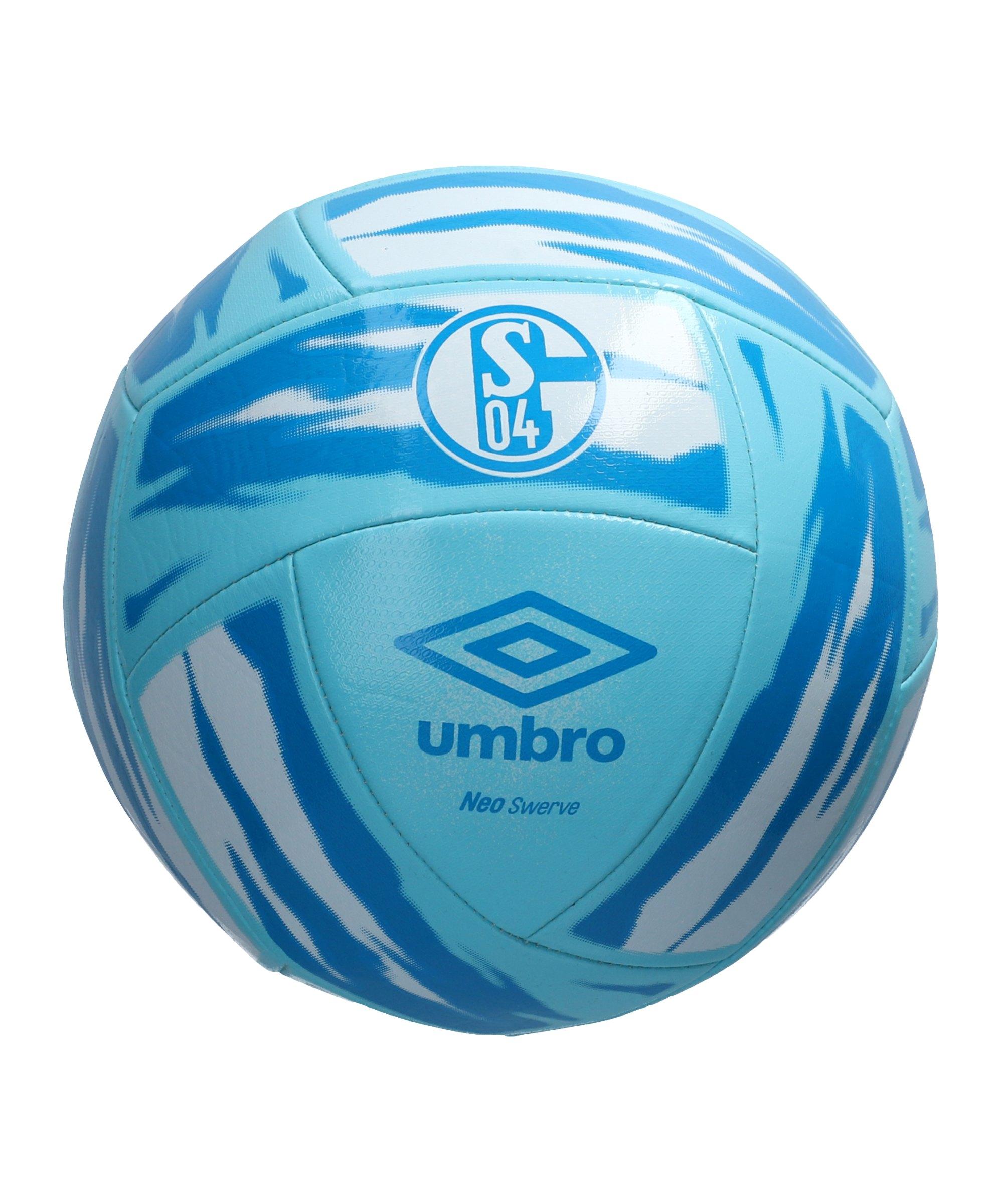 Umbro FC Schalke 04 Neo Swerve Fan-Ball Blau FKV5 - blau