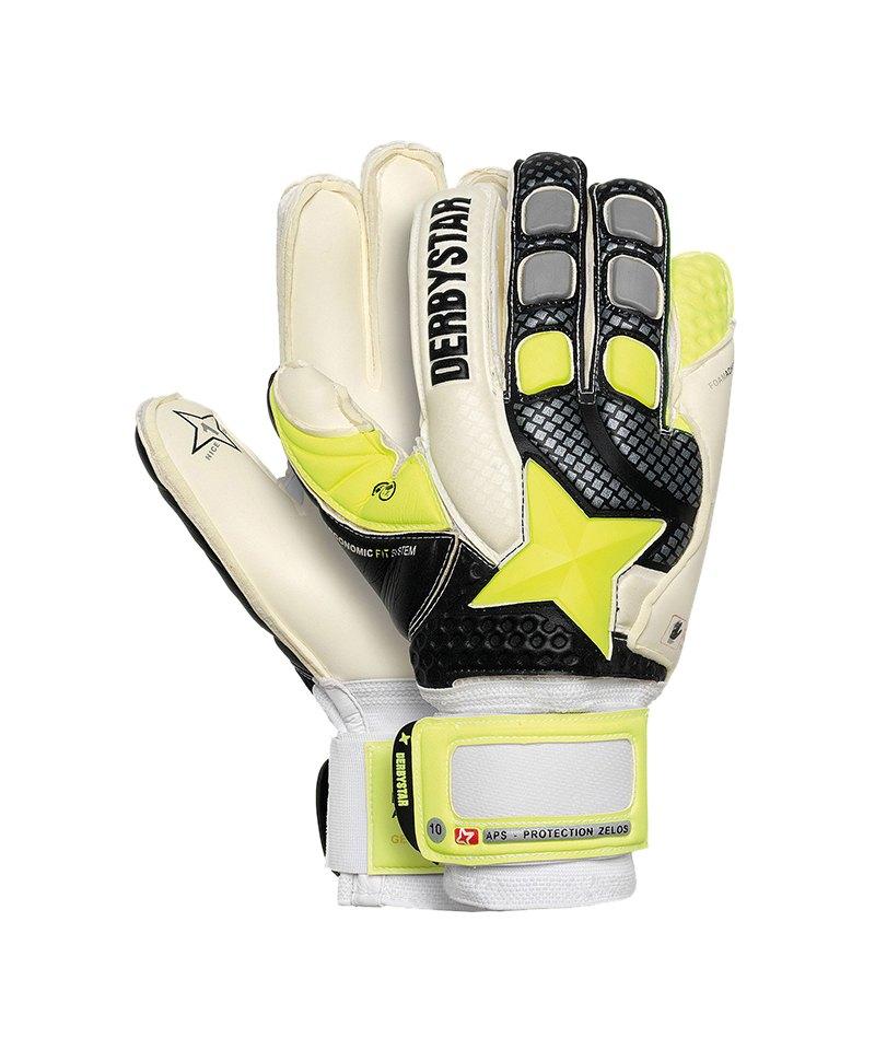 Derbystar APS Protection Zelos Handschuh Schwarz - weiss