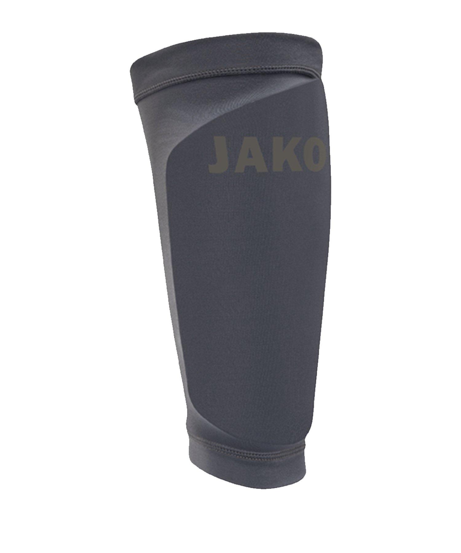 JAKO Light Strumpf für Schienbeinschoner Grau F21 - grau