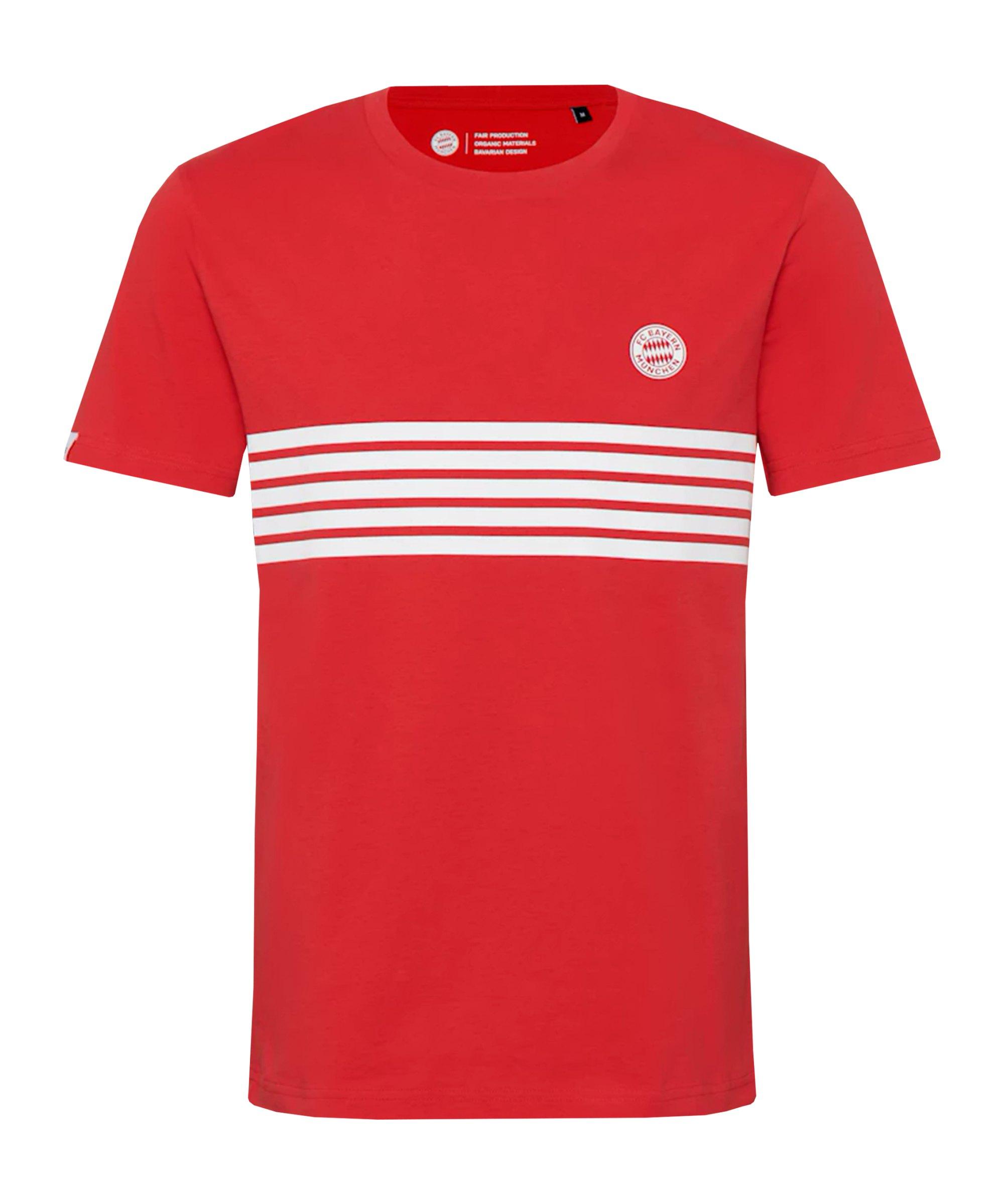 FC Bayern München Statement T-Shirt Kids Rot Weiss - rot