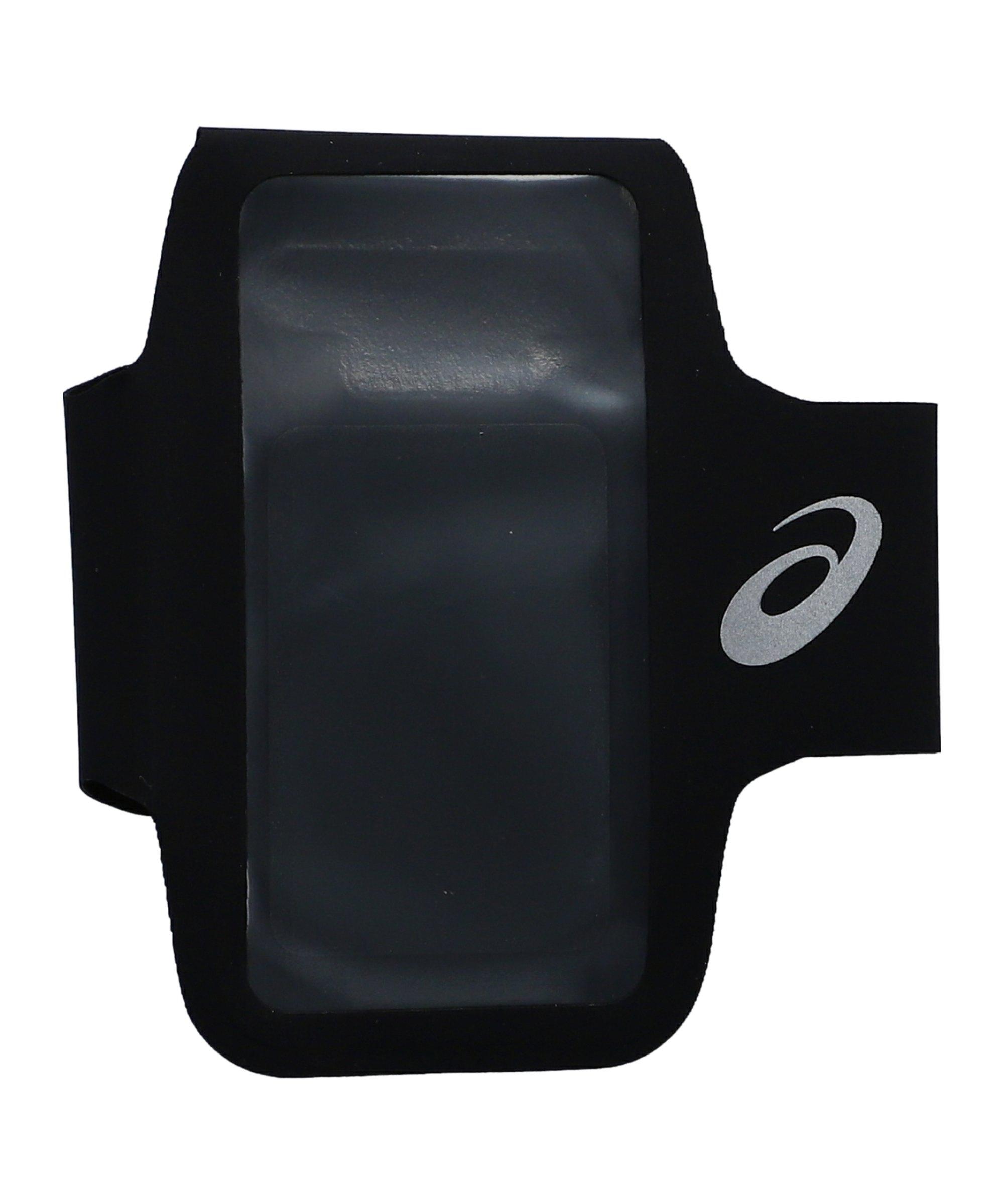 Asics Arm Pouch Phone Tasche Running Schwarz F001 - schwarz