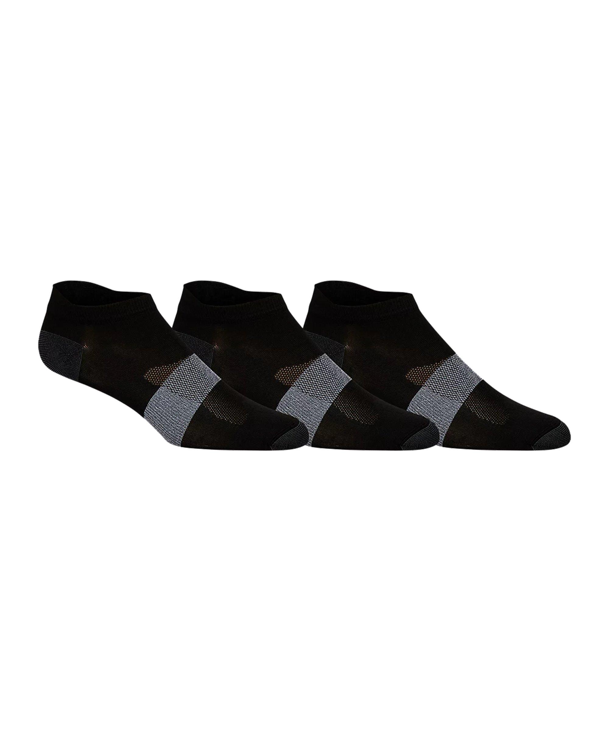 Asics 3er Pack LYTE Socken Schwarz F0900 - schwarz