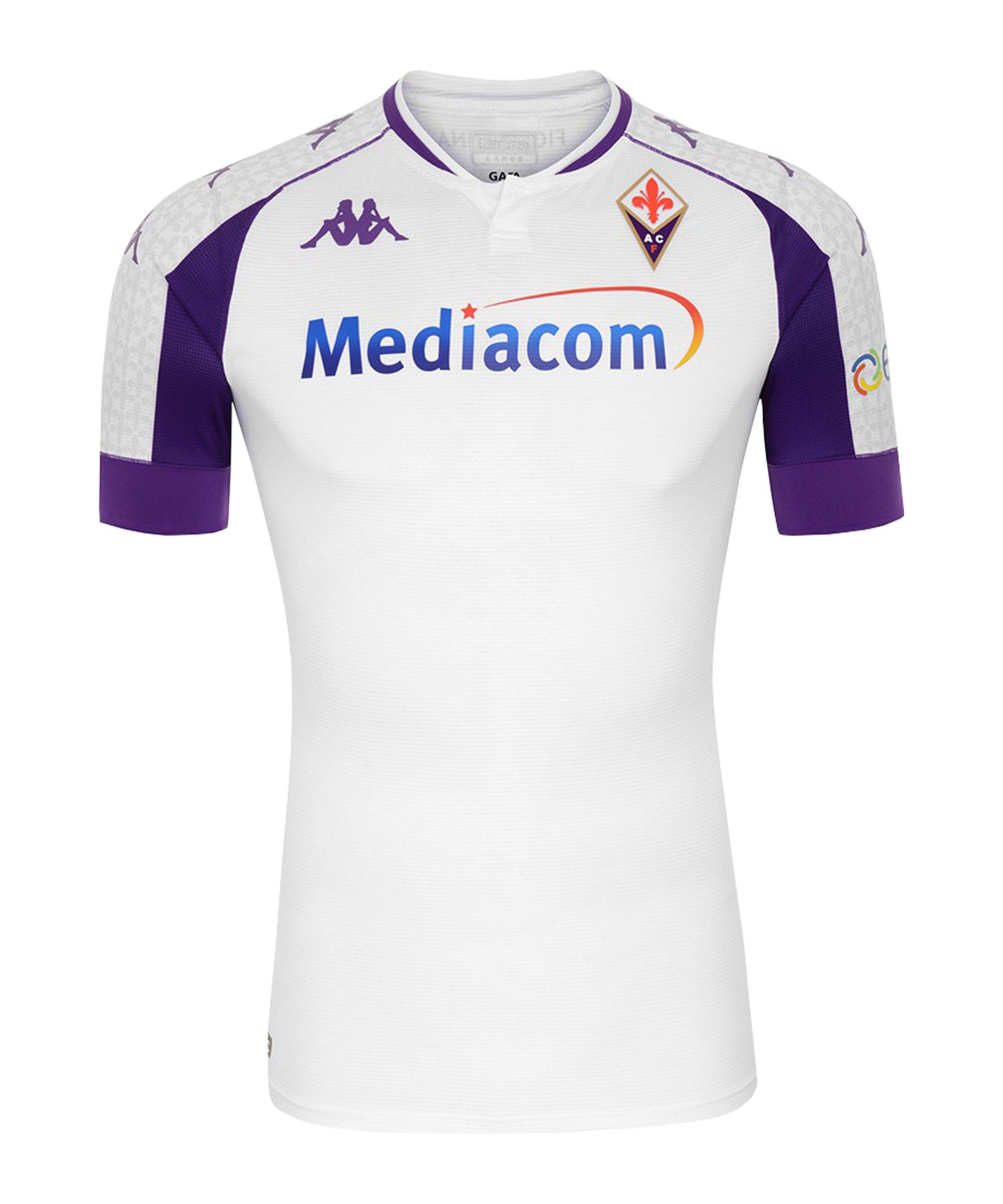 Kappa AC Florenz Trikot Away 2020/2021 Weiss FA03 - weiss