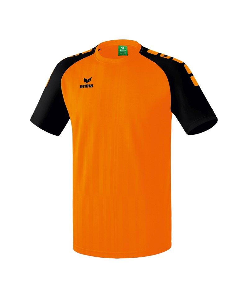 Erima Trikot kurzarm Tanaro 2.0 Orange Schwarz - orange