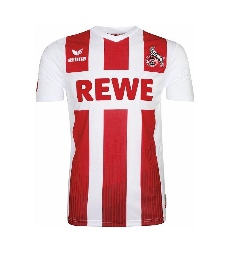 Erima Trikot 1. FC Köln Home 17/18 Kinder Weiss - weiss