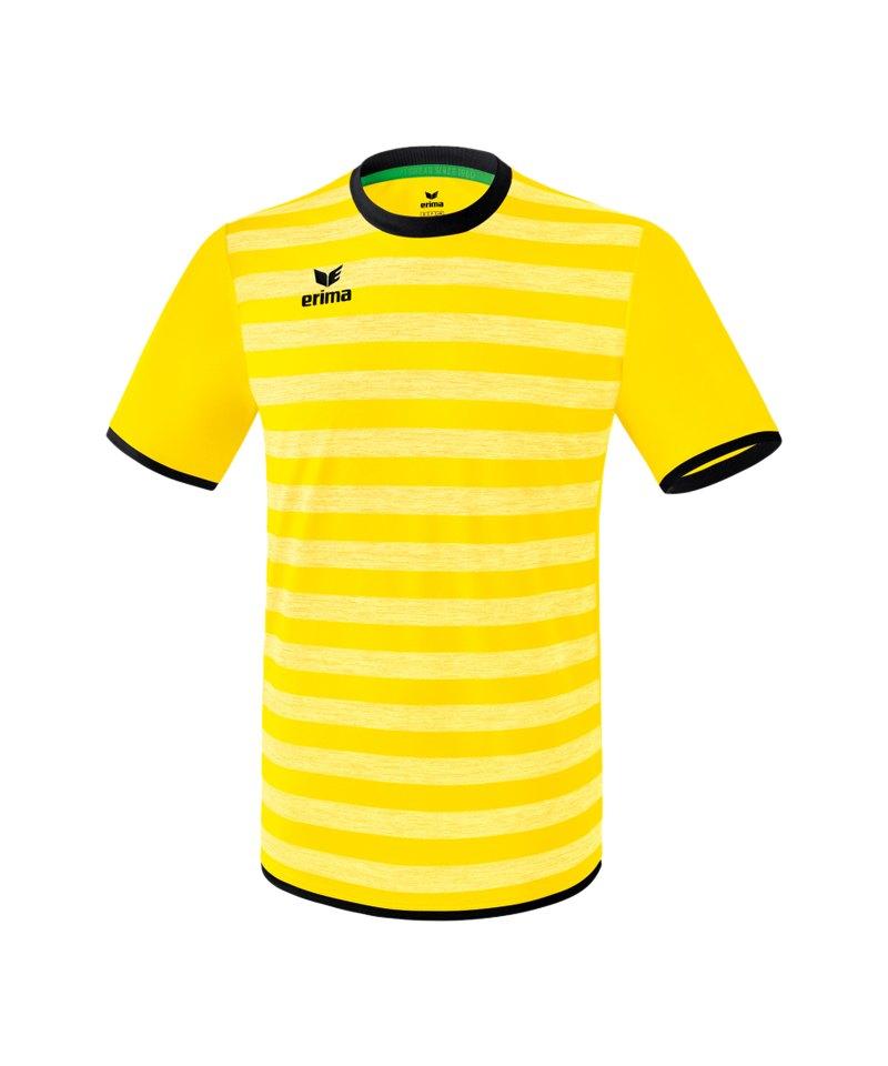 Erima Barcelona Trikot kurzarm Gelb Schwarz - gelb