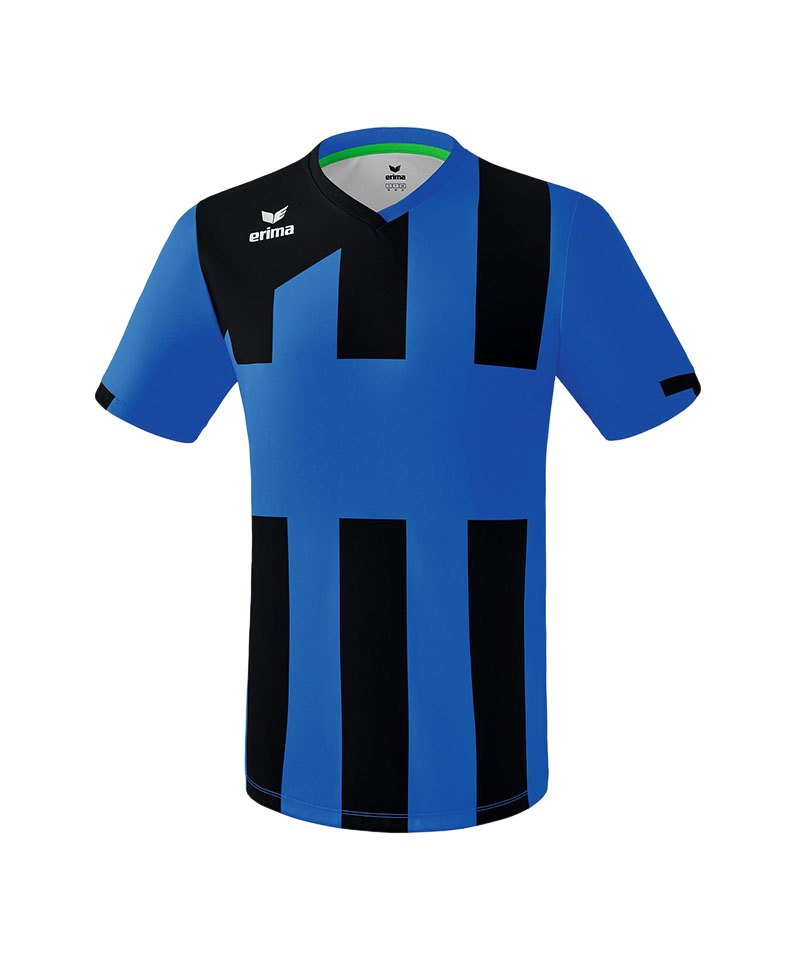 Erima Siena 3.0 Trikot kurzarm Blau Schwarz - blau