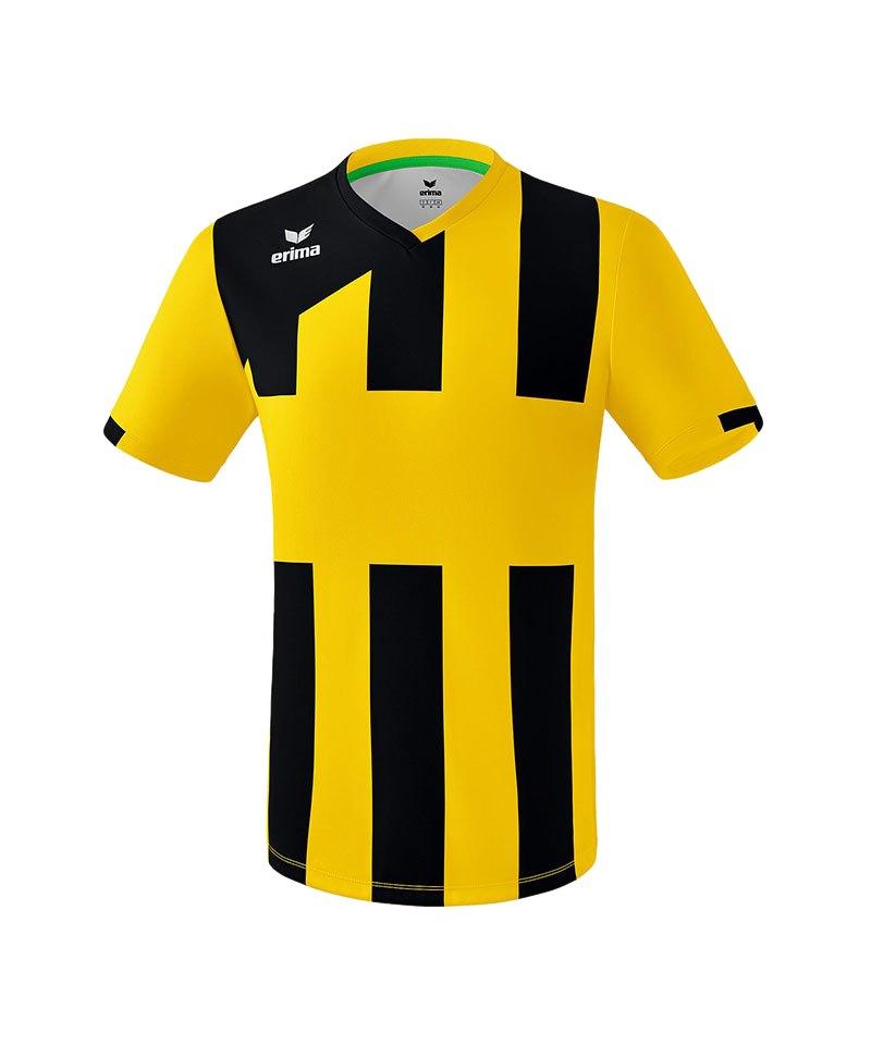 Erima Siena 3.0 Trikot kurzarm Gelb Schwarz - gelb