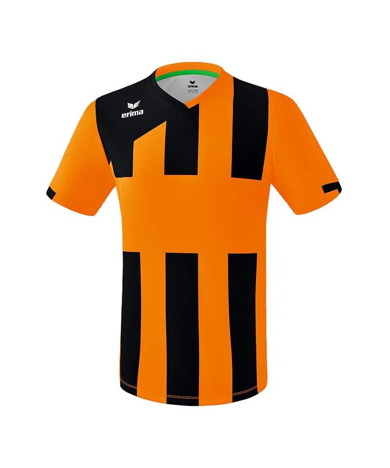 Erima Siena 3.0 Trikot kurzarm Kids Orange Schwarz - orange