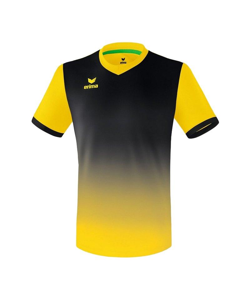Erima Leeds Trikot kurzarm Gelb Schwarz - gelb