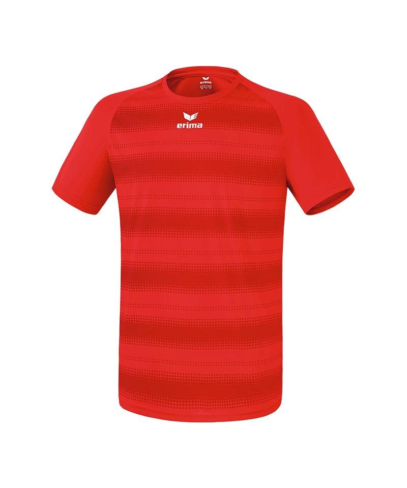 Erima Kurzarm Trikot Santos Rot - rot