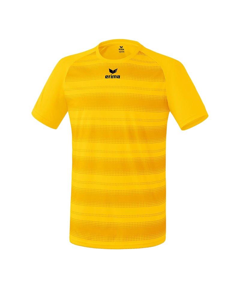 Erima Kurzarm Trikot Santos Kinder Gelb - gelb