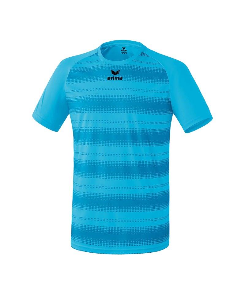 Erima Kurzarm Trikot Santos Hellblau - blau
