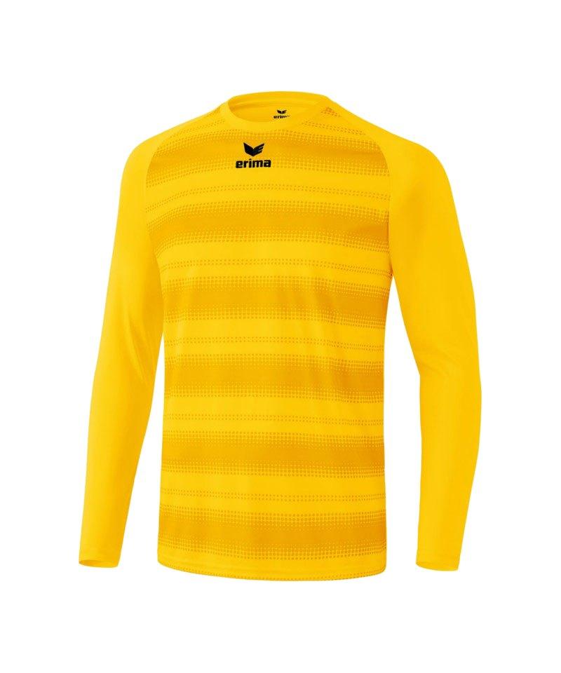 Erima langarm Trikot Santos Gelb - gelb
