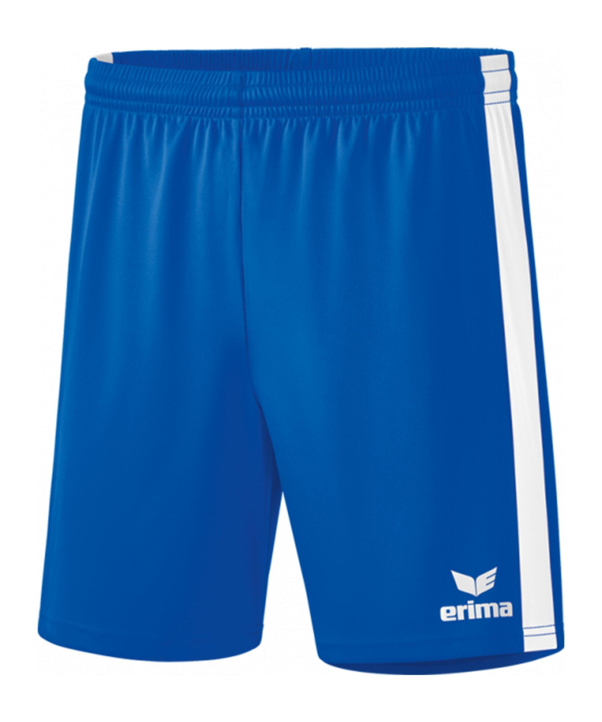 Erima Retro Star Short Kids Hellblau Weiss - blau