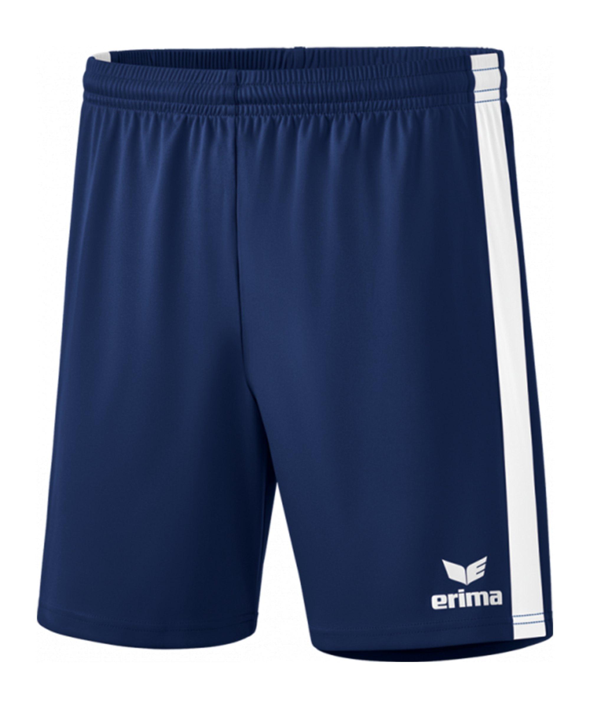 Erima Retro Star Short Blau Weiss - blau
