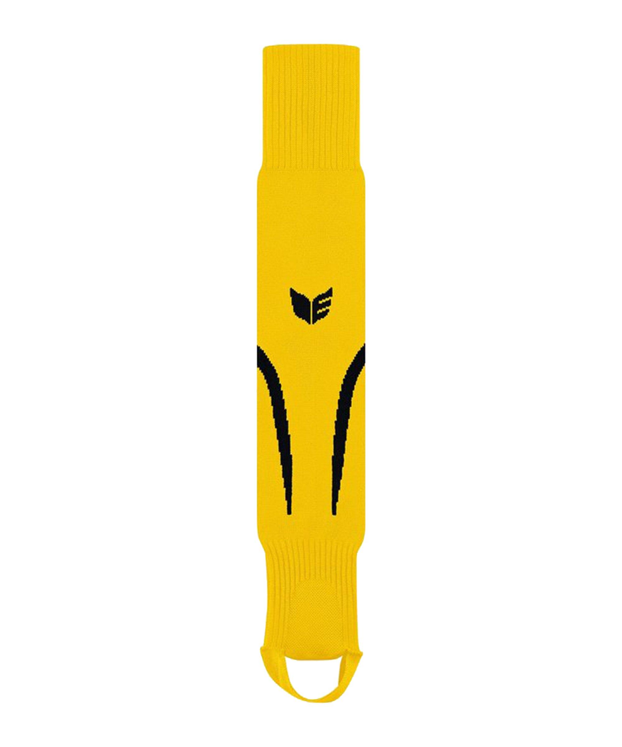 Erima Tanaro Stutzen mit Steg Gelb Schwarz - gelb