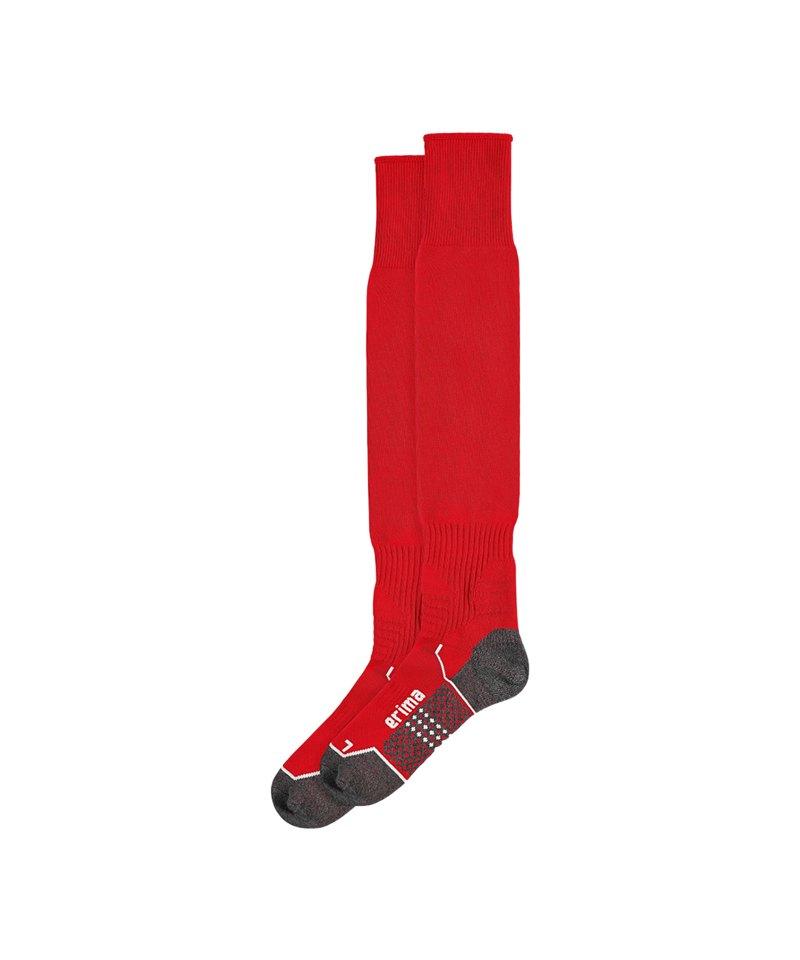 Erima Stutzenstrumpf Rot - rot