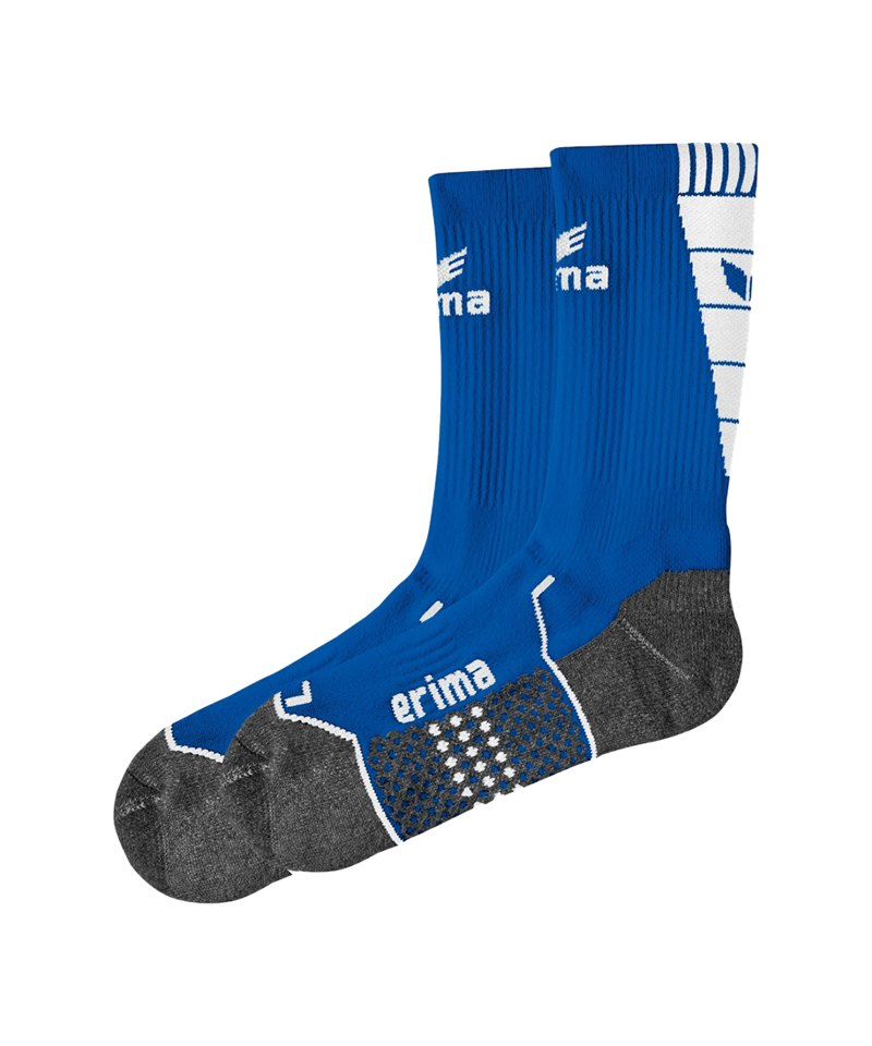 Erima Short Socks Trainingssocken Blau Weiss - blau