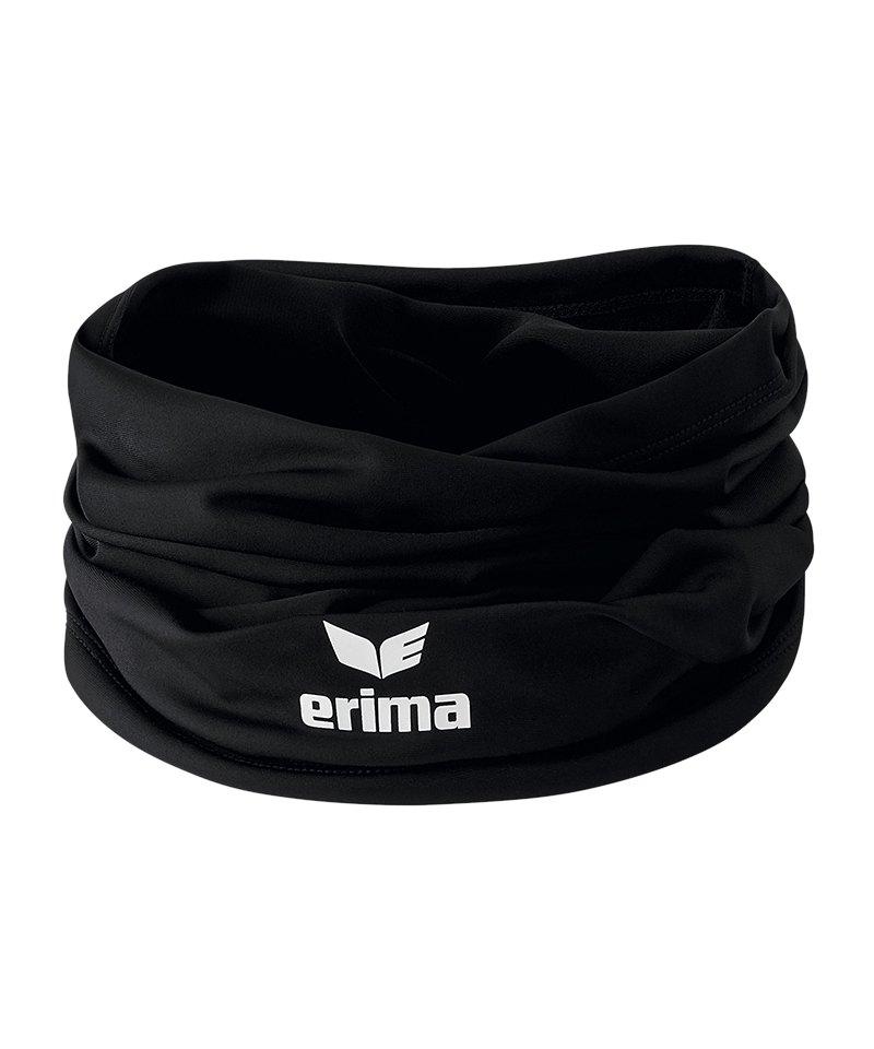 Erima Nackenwärmer Neckwarmer Schwarz - schwarz