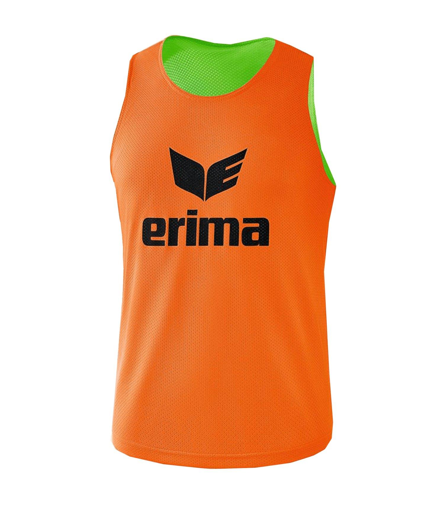 Erima Wende-Markierungshemd Orange Grün - orange