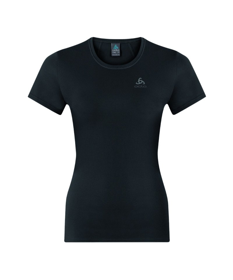 Odlo Shaila T-Shirt Running Damen Schwarz F15000 - schwarz