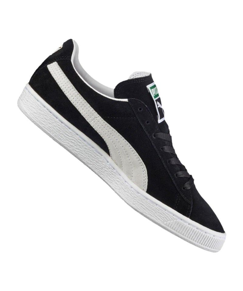 PUMA Suede Classic Sneaker Schwarz Weiss F03 - schwarz
