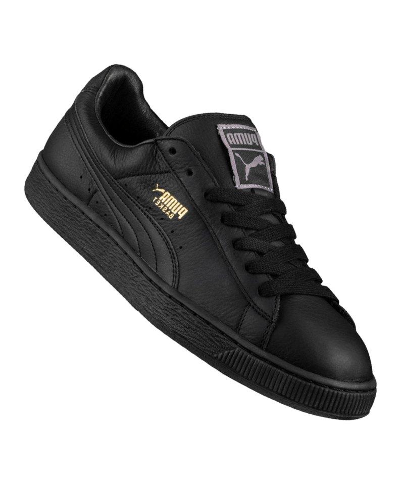 PUMA Basket Classic LFS Sneaker Schwarz F19 - schwarz
