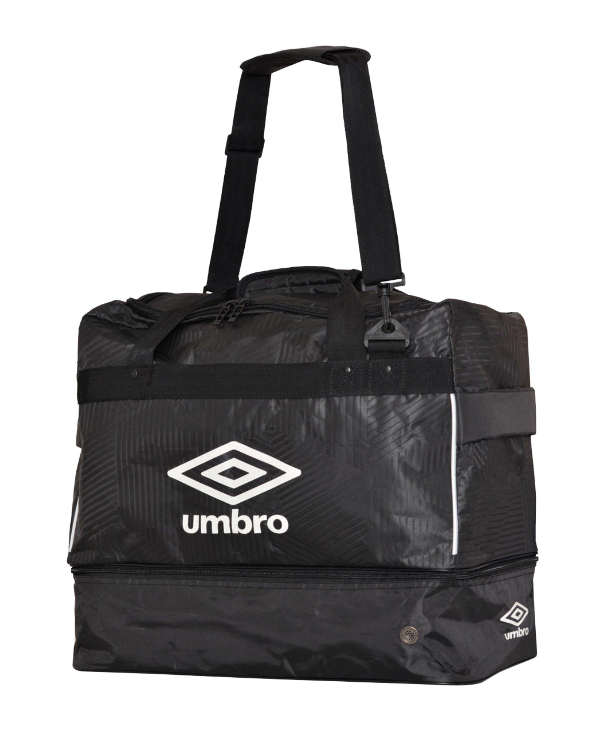Umbro Maxium Tasche Gr.L mit Bodenfach F090 - schwarz