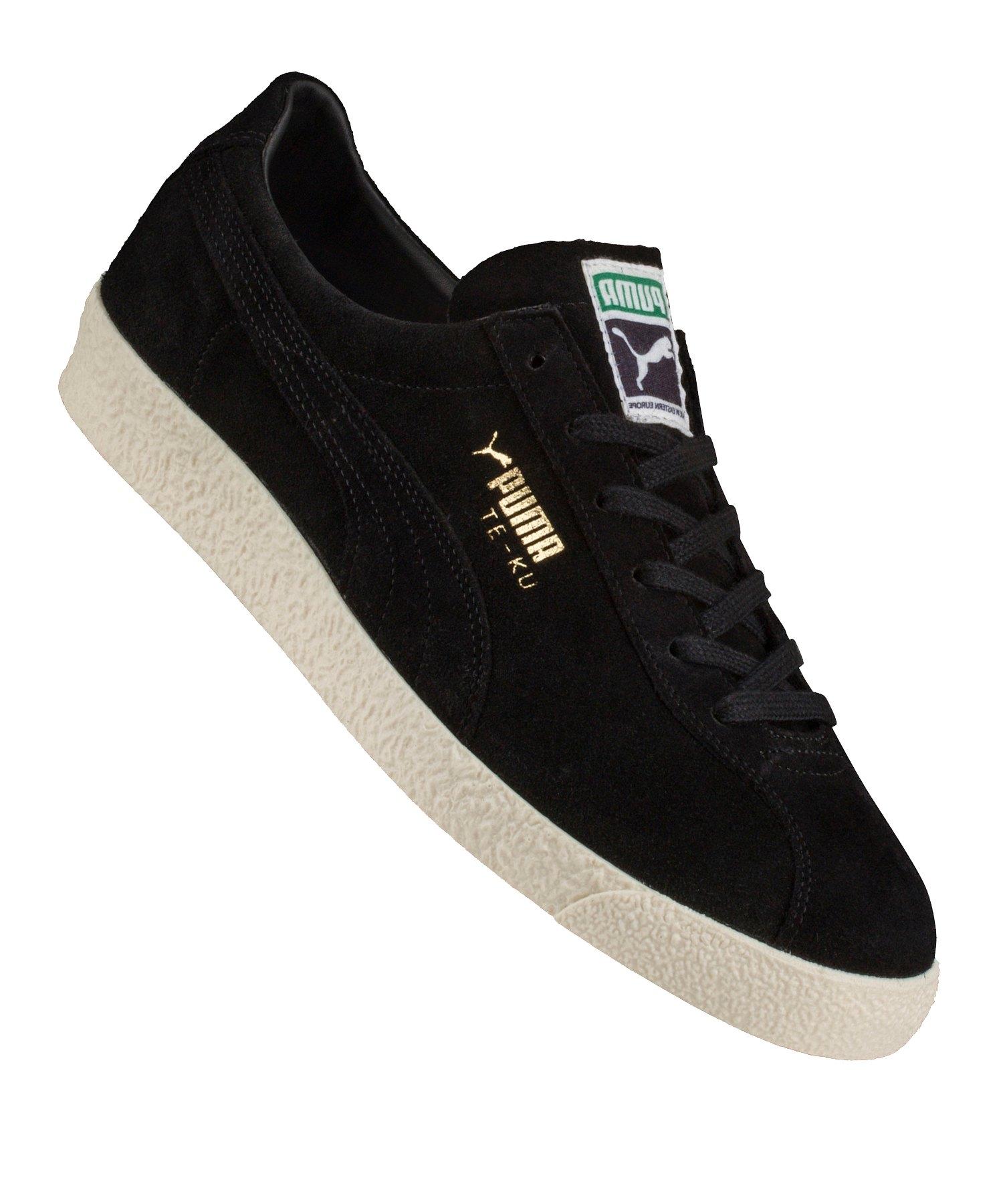 PUMA Te-Ku Sneaker Schwarz Gold F04 - schwarz