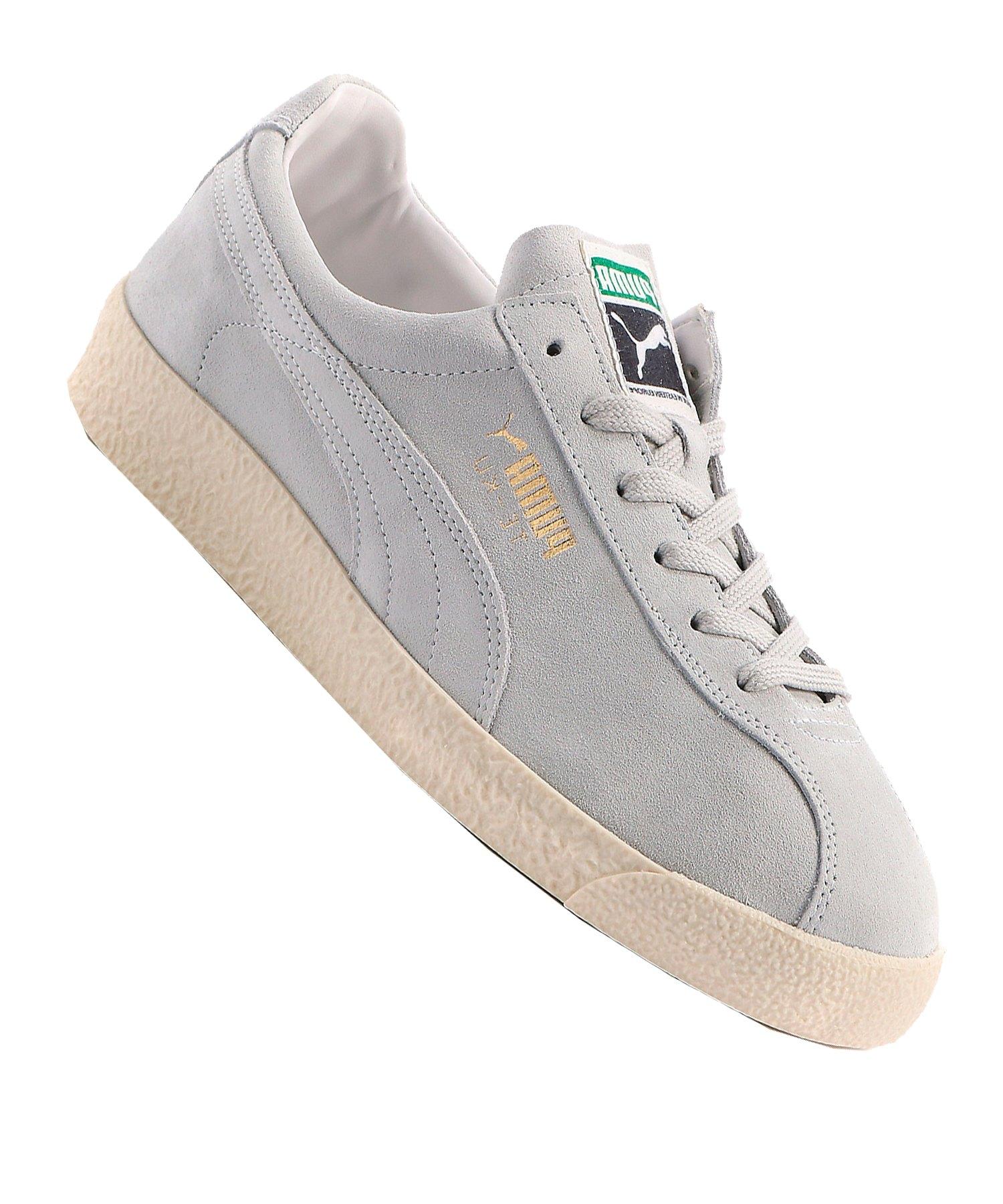 PUMA Te-Ku Sneaker Weiss Grau F01 - weiss
