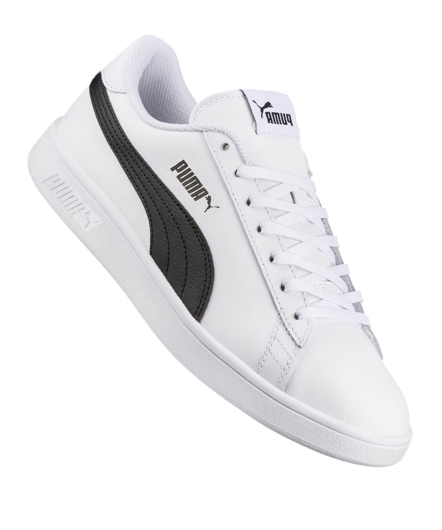 PUMA Smash v2 L Sneaker Weiss F01 - weiss