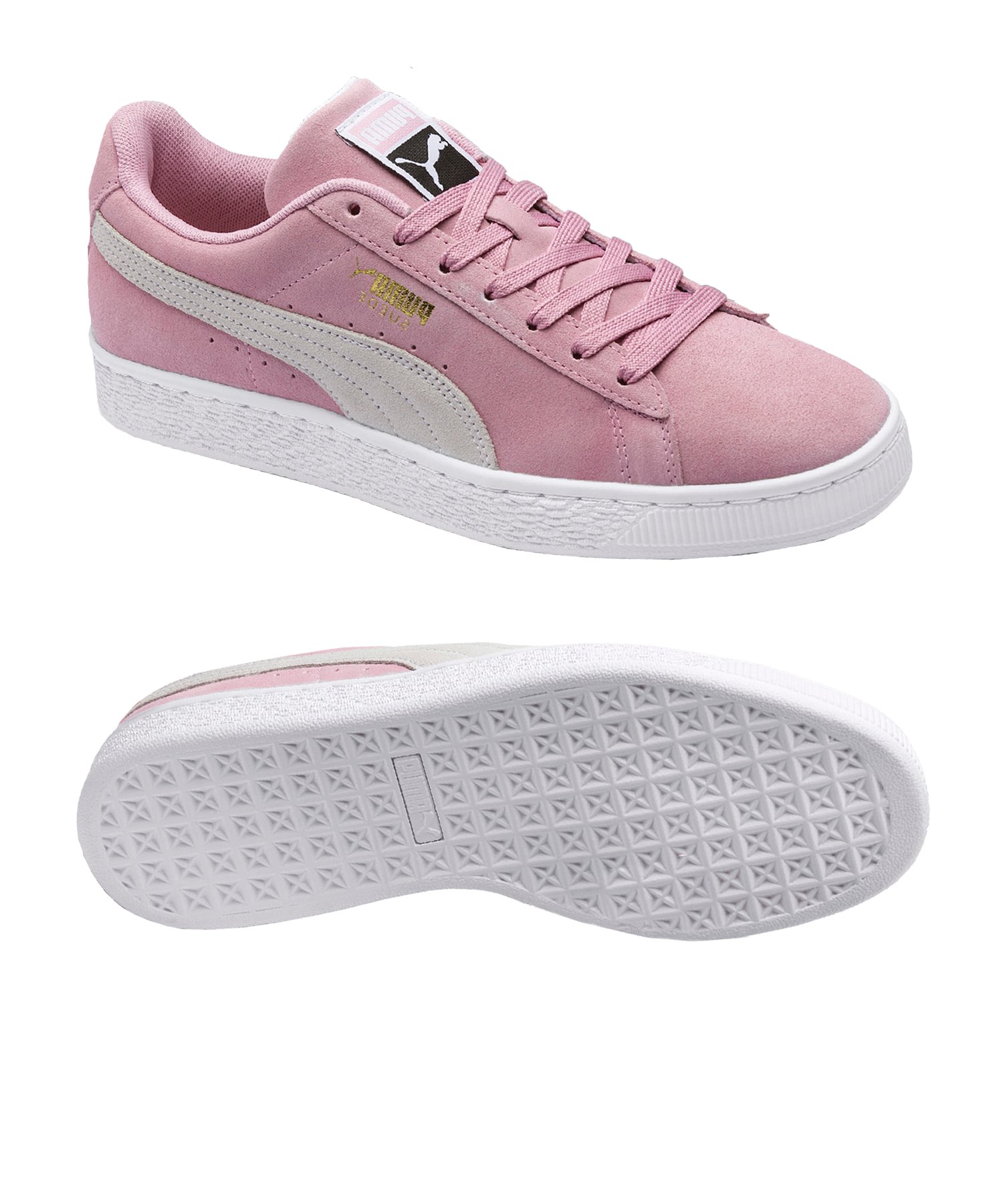 PUMA Suede Classic Sneaker Pink Weiss F62 - pink