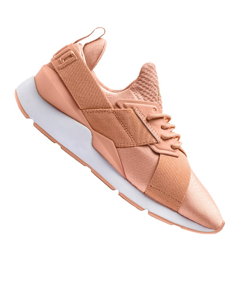 PUMA Muse Satin EP Sneaker Damen Rosa F07 - rosa