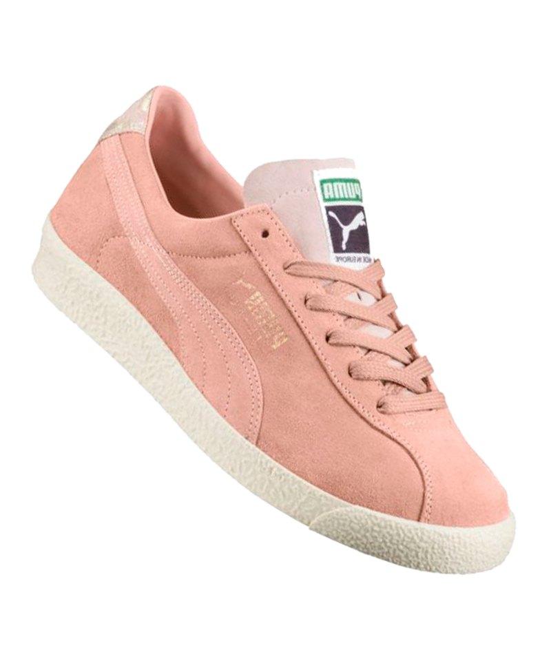 PUMA Teku Suede Sneaker Damen Rosa F02 - rosa