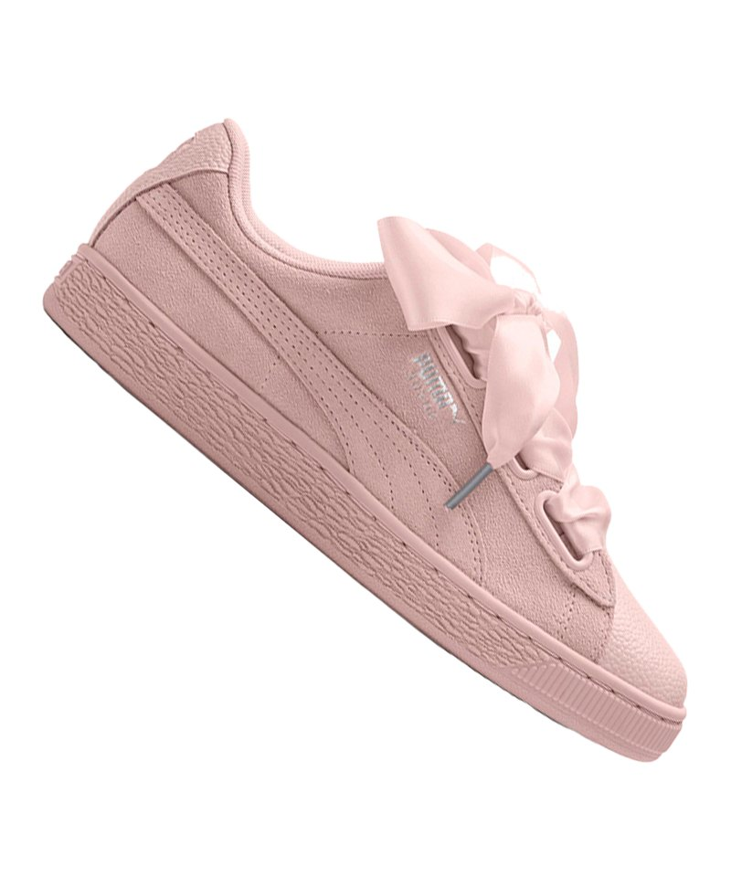 PUMA Suede Heart Bubble Sneaker Damen F02 - pink