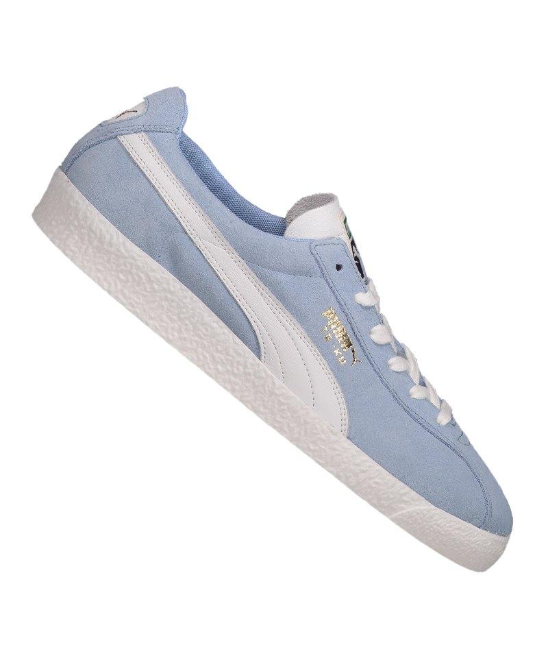 PUMA Te-Ku Prime Sneaker Blau Weiss F07 - blau