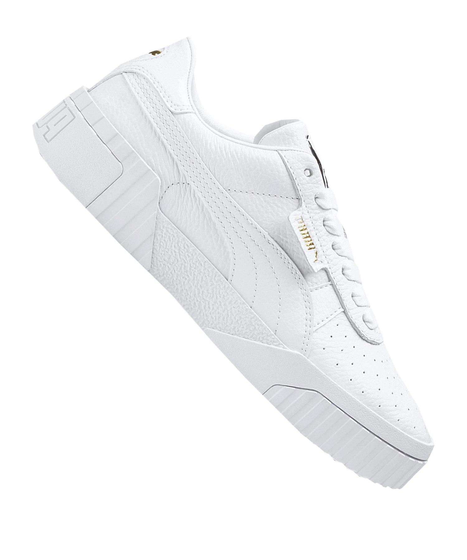 PUMA Cali Sneaker Damen Weiss F01 - weiss