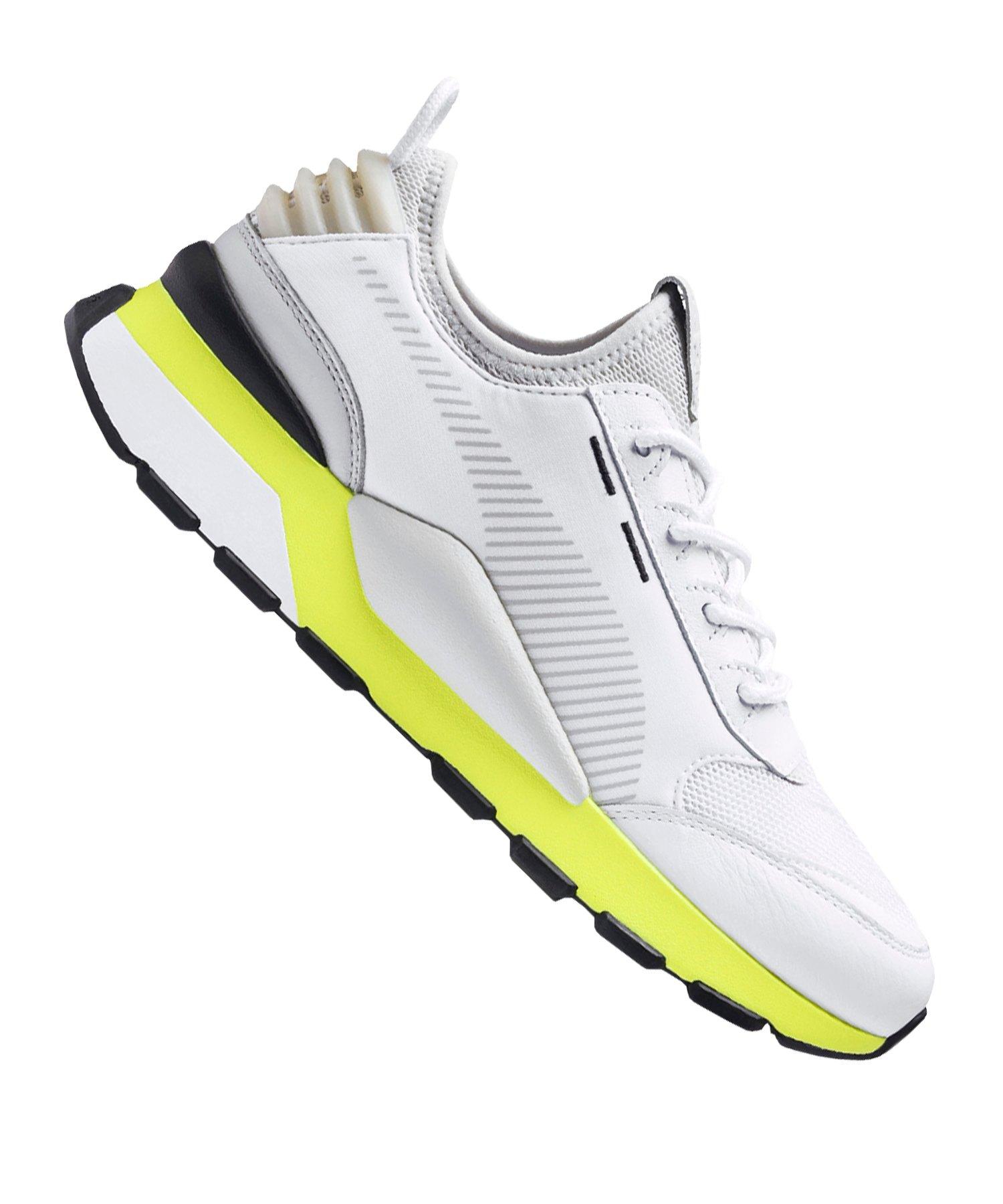 PUMA RS-0 TRACKS Sneaker Weiss Gelb F03 - weiss