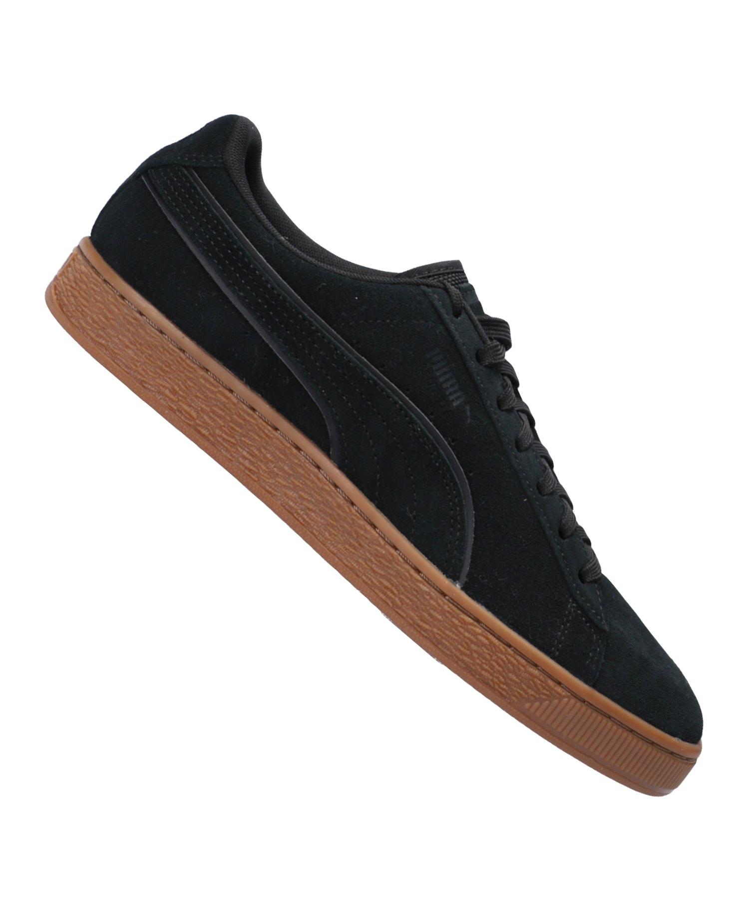 PUMA Suede Classic WTR Sneaker Schwarz F01 - Schwarz