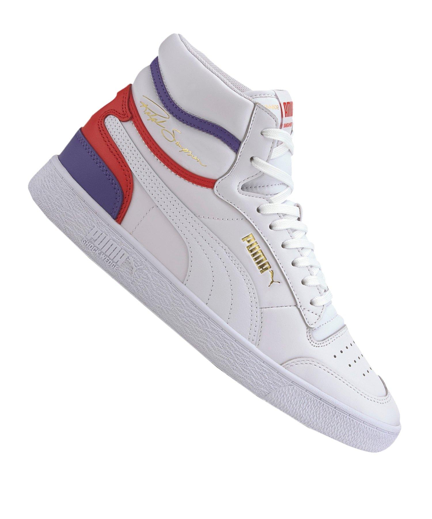 PUMA Ralph Sampson Mid Sneaker Weiss F10 - weiss