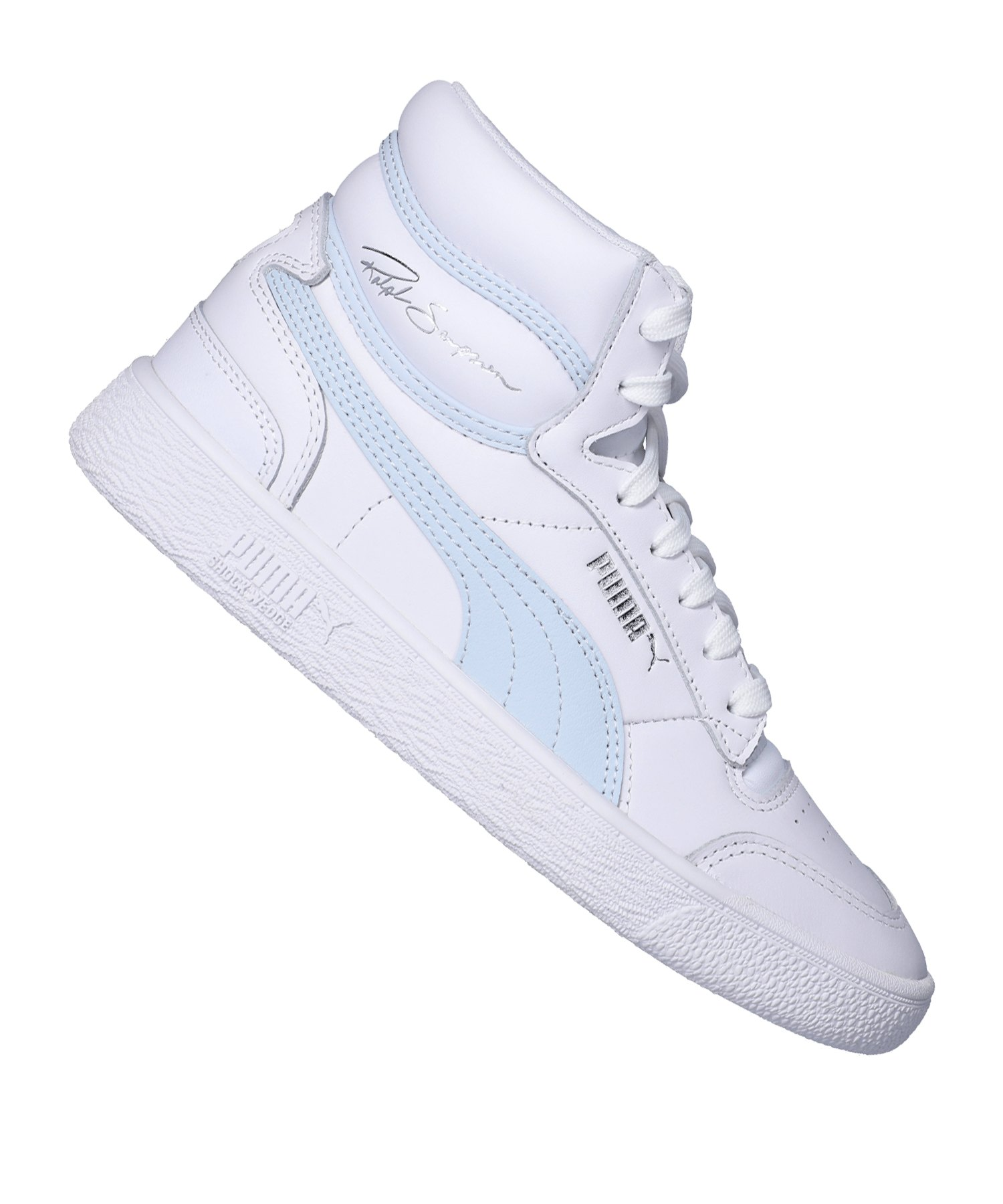 PUMA Ralph Sampson Mid Sneaker Weiss F11 - weiss