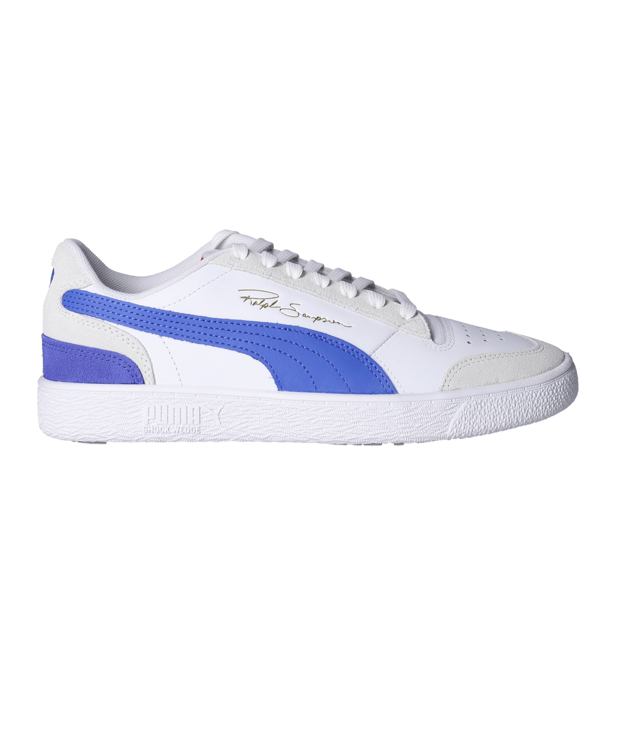 PUMA Ralph Sampson Lo Vintage Sneaker Weiss F01 - weiss