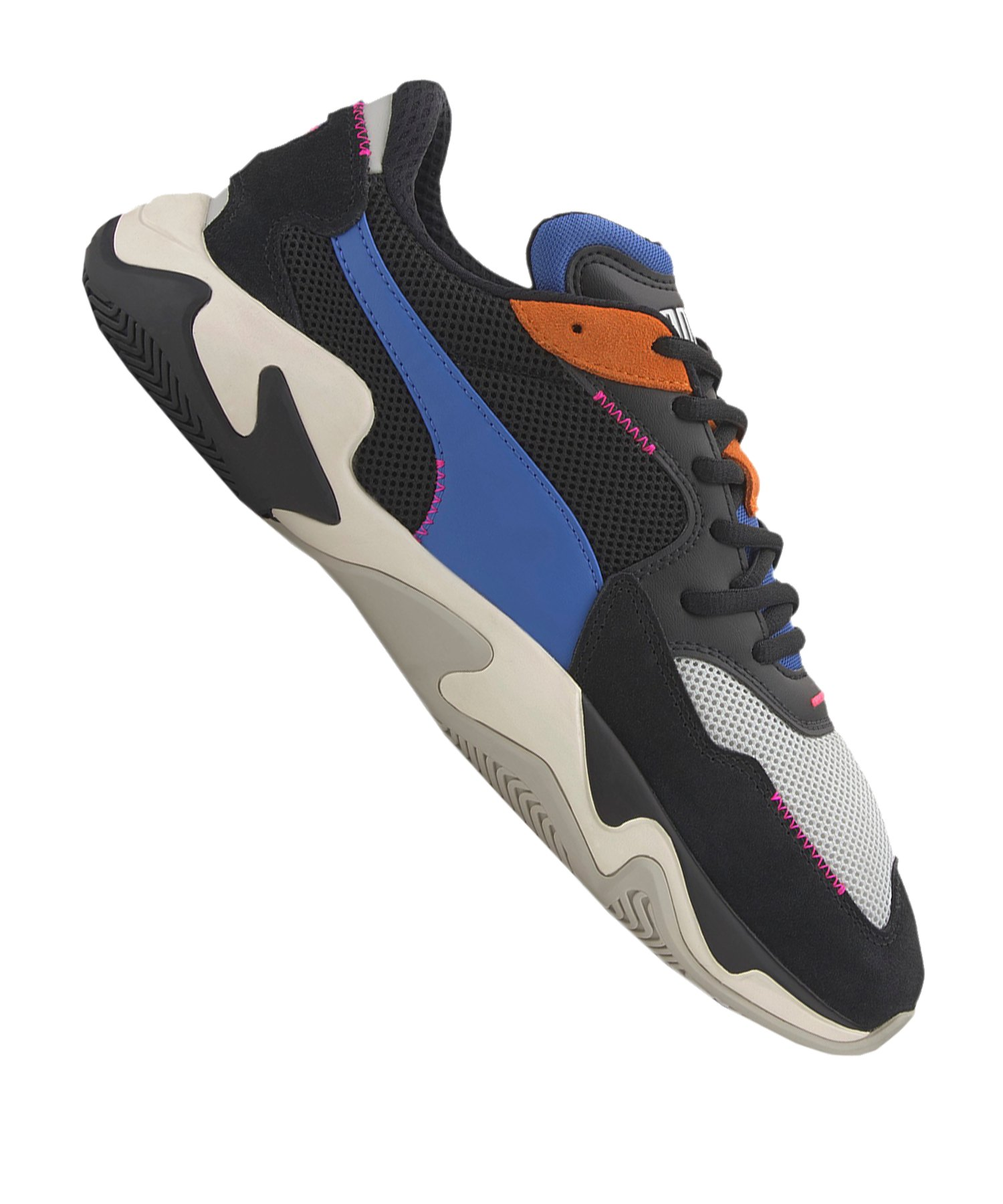 PUMA Strom Stitching Sneaker Schwarz F01 - schwarz