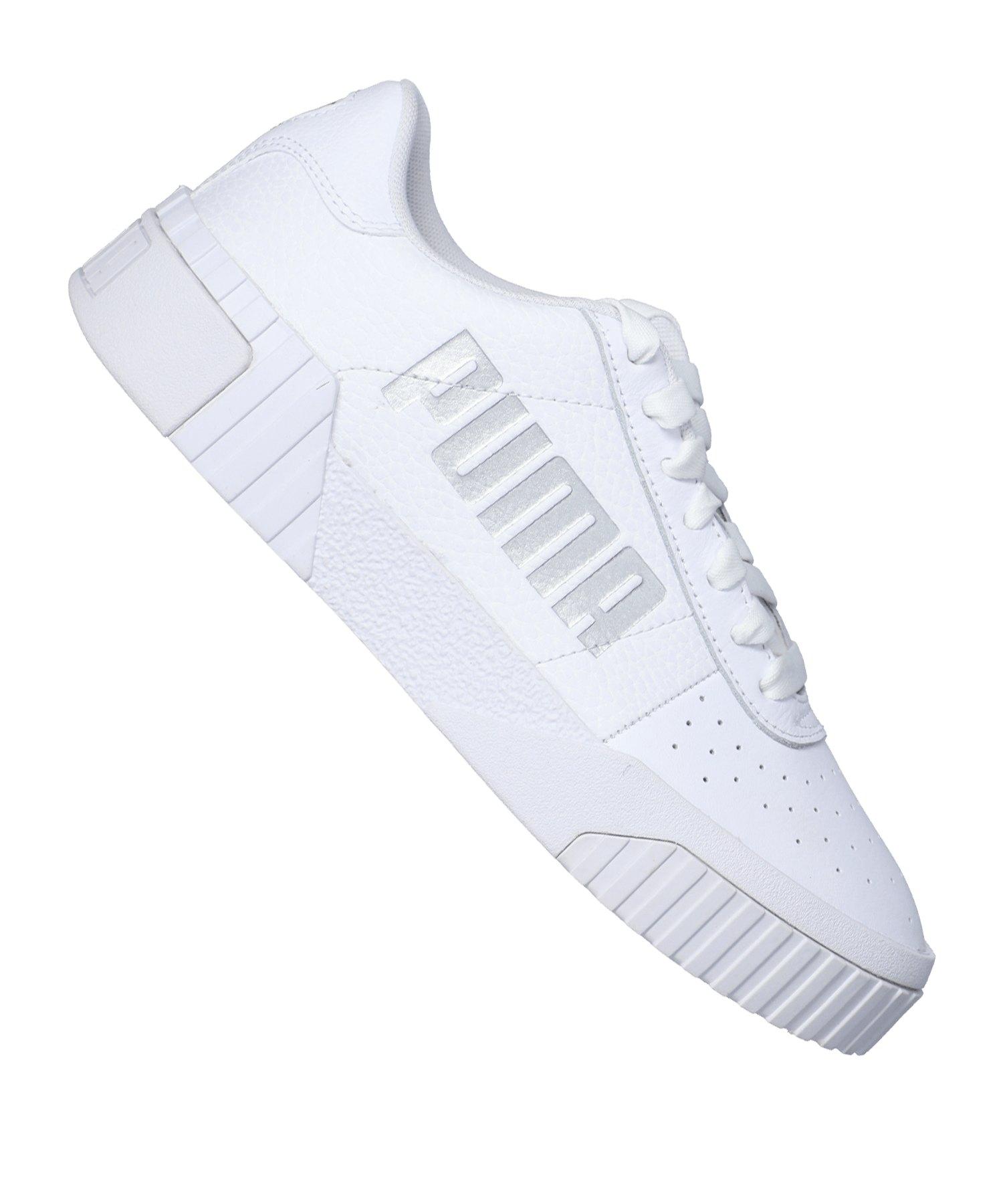 PUMA Cali Statement Sneaker Damen Weiss F01 - weiss