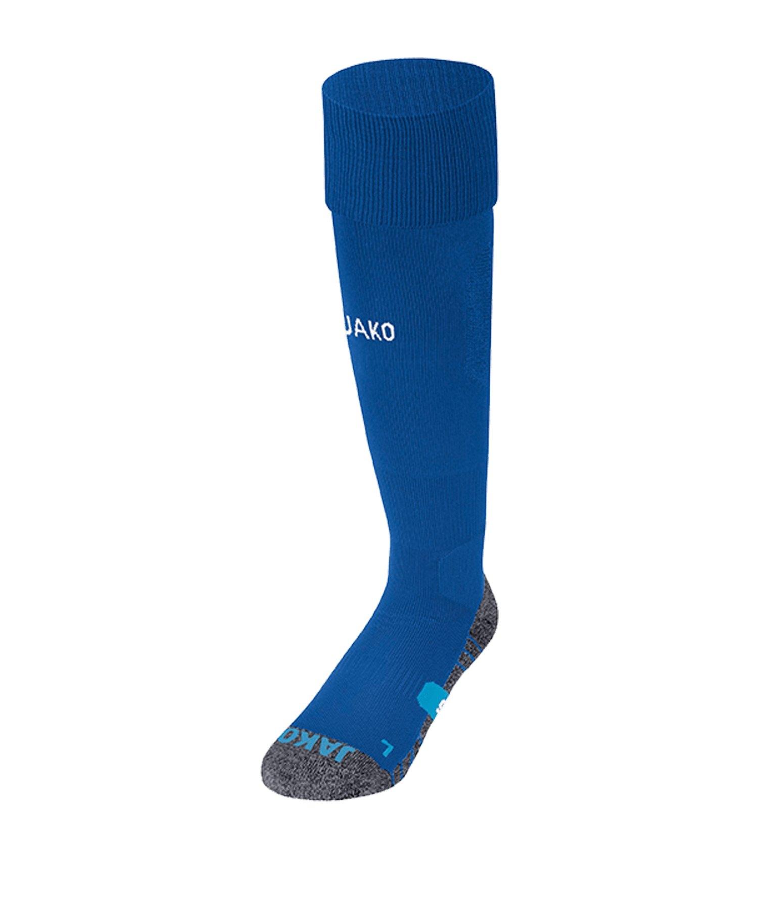 JAKO Premium Stutzenstrumpf Blau F04 - blau