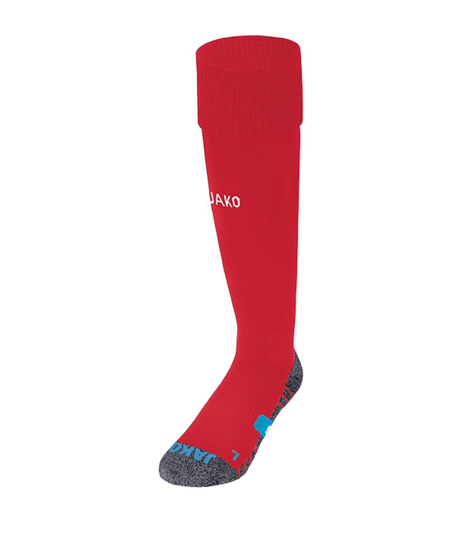 JAKO Premium Stutzenstrumpf Rot F01 - rot