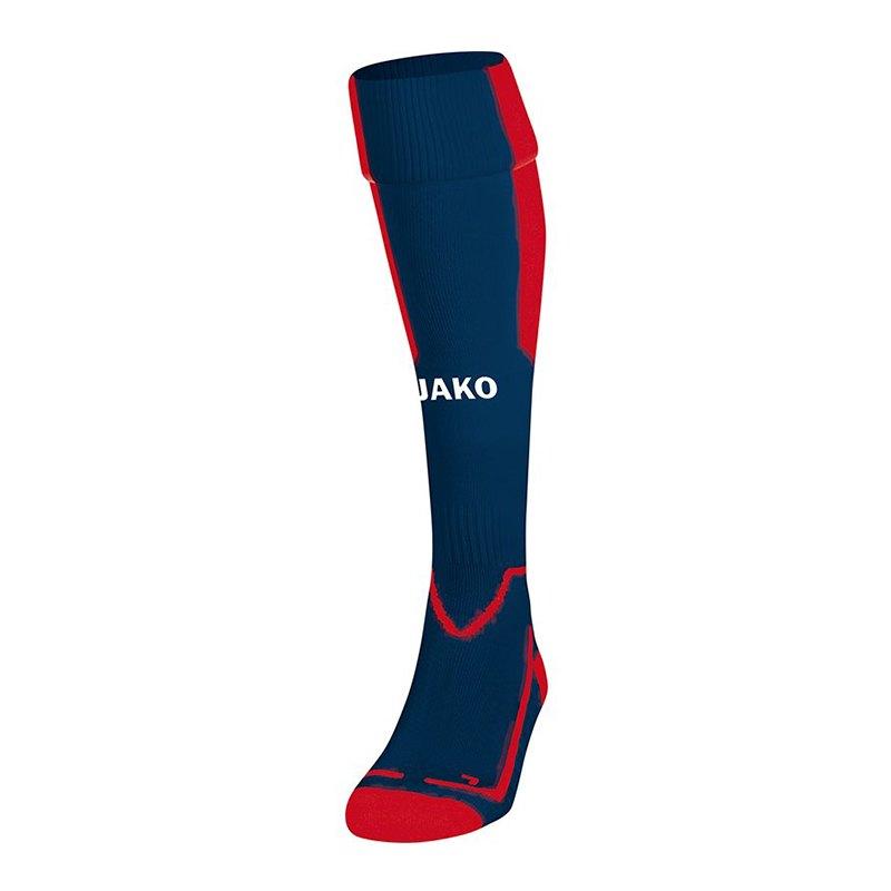Jako Lazio Stutzenstrumpf Blau Rot F09 - blau