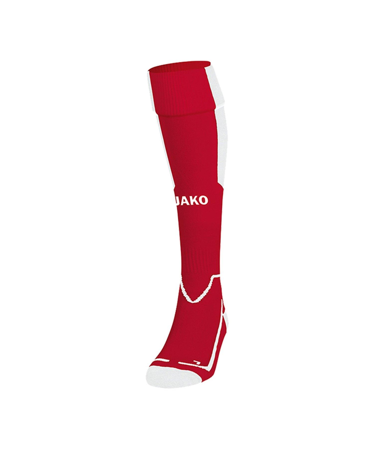 Jako Lazio Stutzenstrumpf Rot Weiss F11 - Rot